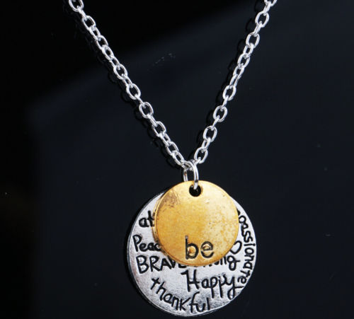 Be Happy ketting