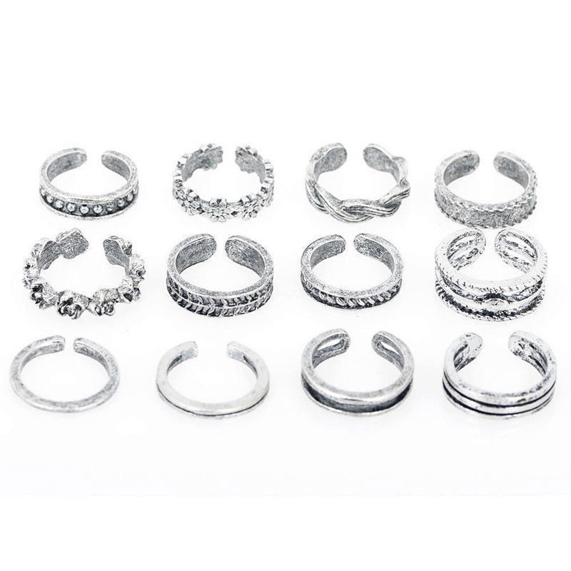 Teenringen set 12 delig